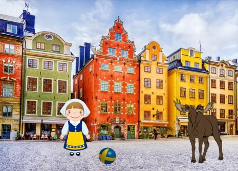 Scappate con il mese della Svezia su Birdrama!